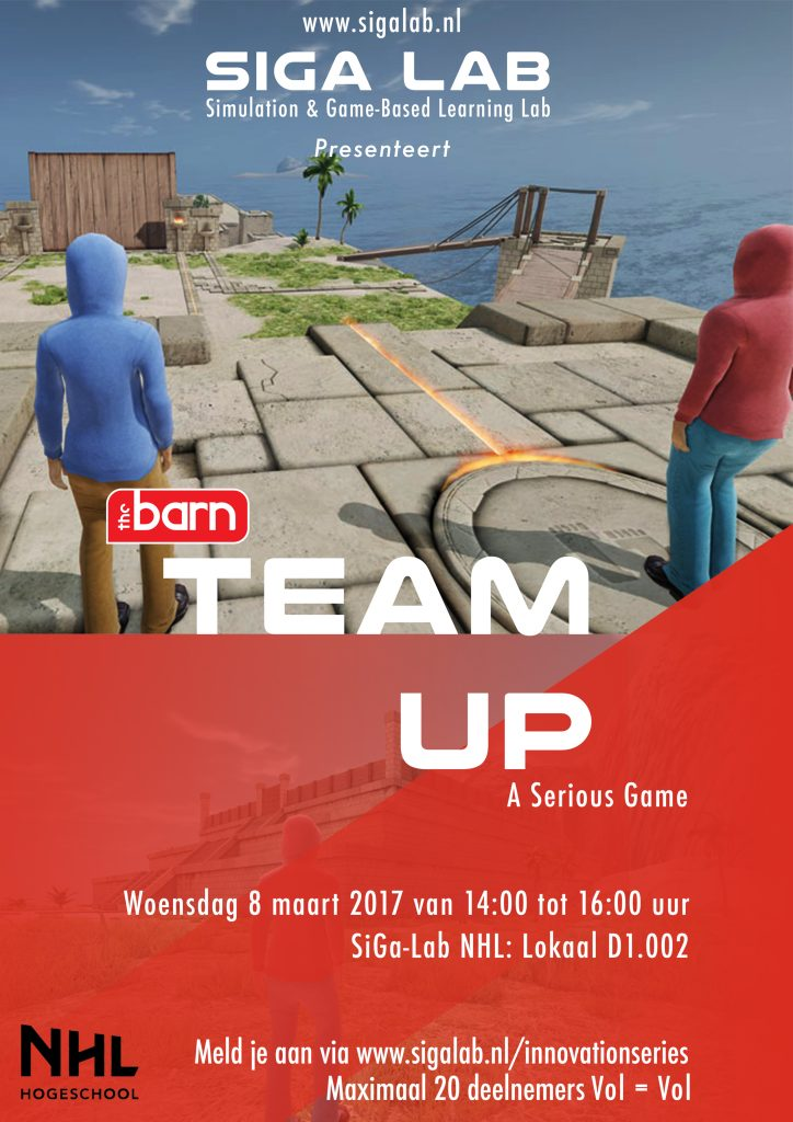 Game poster Team Up A3