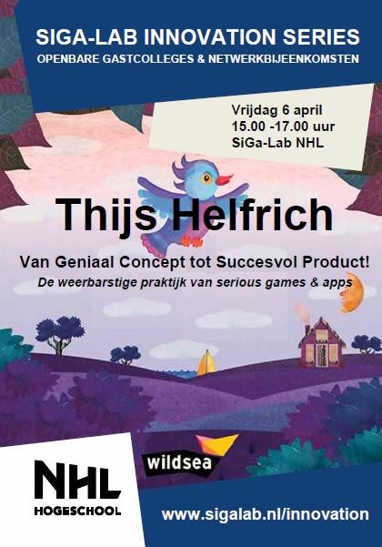 Flyer Thijs Helfrich - Voorzijde