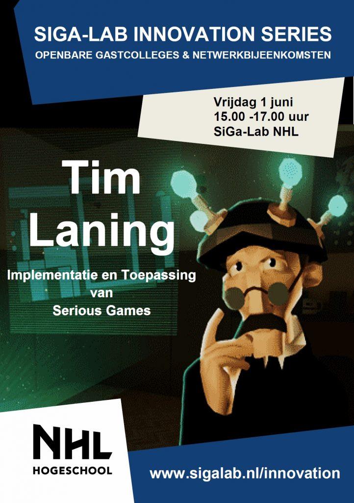 Flyer Tim Laning - Voorzijde